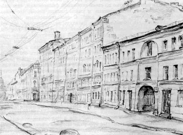 иллюстрации - Идиот - Петербург Достоевского.